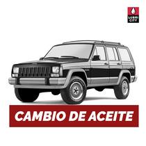 Cambio Aceite Y Filtro Jeep Cherokee 4.0 V8 Desde 1993