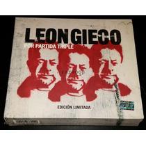 Leon Gieco (3cds) Por Partida Triple Ed. Limitada