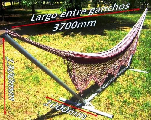 soporte relax para hamacas paraguayas