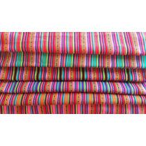 Cortes (retazo) De Aguayo O Manta Andina, Paquete 5 Colores