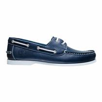 Zapato Nautico Timberland Cuero Clasico Acordonado