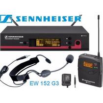 Microfono De Vincha Inalambrico Uhf Sennheiser Ew152 G3