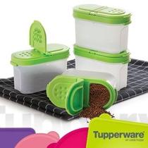 Tupperware Especieros Set X4
