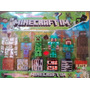 Muñecos Minecraft Articulados Y Accesorios X 6