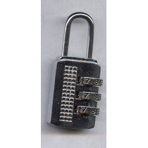 Candado Numérico 20mm Maletero Locker Combinación Cambiable