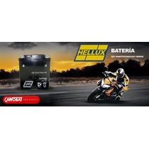 Batería De Gel Hellux Ytx7a-bs Para Motos, Cuatriciclos