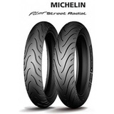 Cubiertas Michelin Pilot Street Radial 120/70+160/60  Zr17