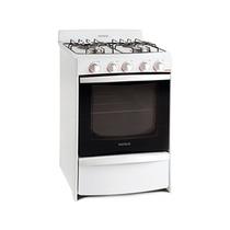 Cocina A Gas Patrick Cps1656bvs Blanca 4 Hornallas 56 Cm