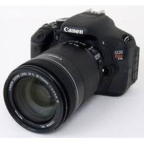 Camara Canon Eos T3i + Lente 15-85mm + 32gb +tiffen 77mm Usa