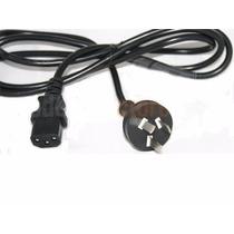 Cable Corriente Alimentacion 220v Para Pc// Venta Por Mayor