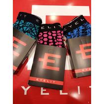 Boxers Eyelit Pack X 3 Algodon Con Elastano