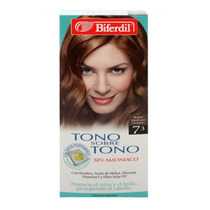 Biferdil Tono S/tono Nro 7.3 Rubio Med Dorado - V Beautyshop