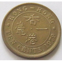 10 Cents 1979 De Hong Kong Excelente !