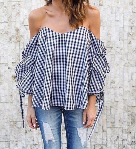 Blusas para mujer Limonni LI119 Campesinas