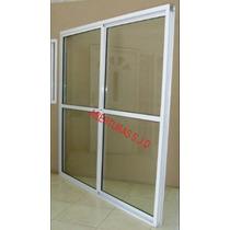 Puerta Ventana Balcon 150x200 Corrediza Vidrio Entero