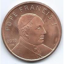 Moneda Onza De Cobre Papa Francisco