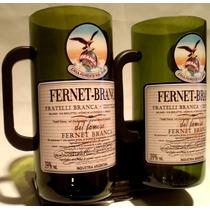 Fernet Branca Jarra Vaso Con Manija