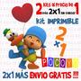 Kit Imprimible Pocoyo - 2x1 Sin Cargo Más Envío Gratis!!
