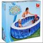 Pileta Transparente Eliptico 54066 Bestway Splash And Play