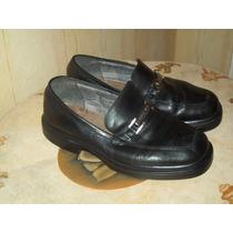 Zapatos De Hombre De Cuero Legitimo Storkman N°40