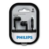Auriculares Philips She1405 Manos Libres Originales Oferta