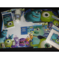 Cotillon Monsters University 20 Chicos El Mas Completo