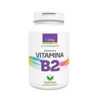 Vitamina B2 - Riboflavina 60 comprimidos 1,3mg - Vital Natus