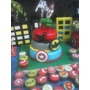 Tortas Superhéroes H.araña Hulk C.america Precio X Kg