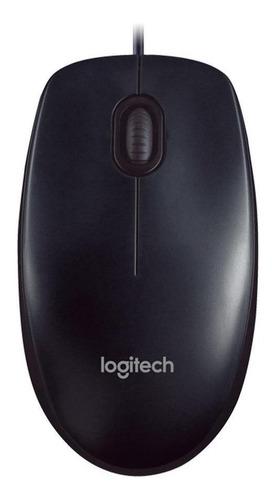 Mouse Logitech M90 Negro