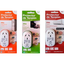 Combo 3 Protector Tension Heladera Tv Led Aire Acondicionado
