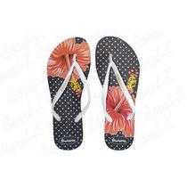 Ojotas Sandalias Mujer Slim Estampadas Hawaianas V Modelos!