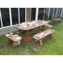 Muebles de Jardín Juegos de Muebles de Jardín Cemento con los ...