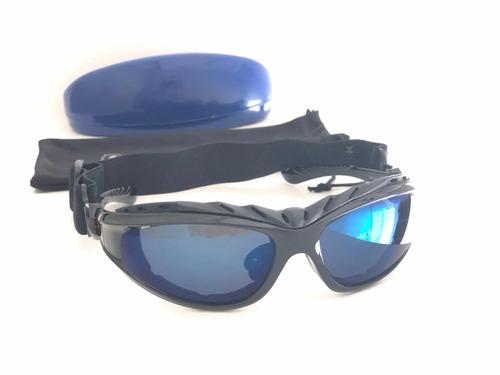 f272589f95 Gafas Ciclismo Unisex Espejado Antiempañante Goma Protectora