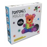 Juego Didáctico Pompones Magicos (bunchems) 400 Abrojos