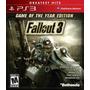 Fallout 3 Goty Ps3 Nuevo Sellado Original