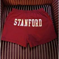 Universidad De Stanford. Short Algodon. Talle Large