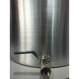 Olla Aluminio N° 45 Con Canilla 70 Litros Cerveza Artesanal