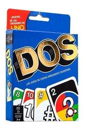 Juego De Carta Dos - Doble Mazo 108 Cartas + Reglas