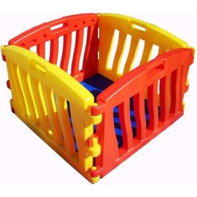 Corralito Infantil Bebe Juegos 2 Paneles Altos - Children's