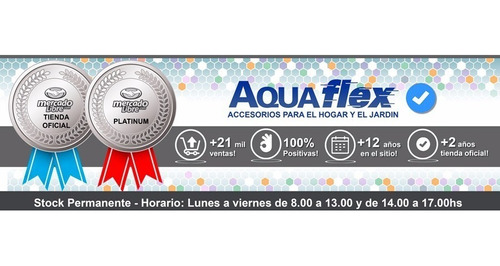 Manguera Riego Porosa Goteo Sudoracion 1/2 X 15m Aquaflex
