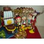 Barco De Jake Y Los Personajes + 20 Brochetes Porcelana Fria