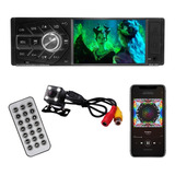 Stereo Bluetooth Pantalla 4 Auto Cámara Retroceso Marcha Atr