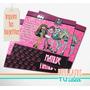 Monster High - Tarjetita Para Imprimir