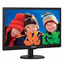 Monitor Pc 22 Philips Led Full Hd Smartcontrol 223v5