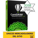 Corel Draw Original 2018 Suit Digital X8 X7 + Regalos