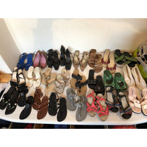 Zapatos Y Sandalias De Mujer Usados Talles 34-35-36-37-38-39