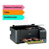 Impresora Epson L3110 Multifuncion Ecotank Sist Continuo Pce