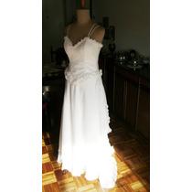 Vestido Novia Raso, Bustier Encaje, Modista Alta Costura