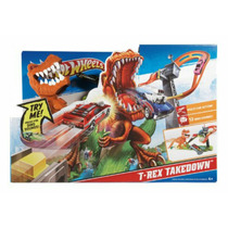 Pista Hot Weels ! Duelo T-rex! Original Mattel