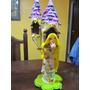 Adorno En Porcelana Fria Rapunzel